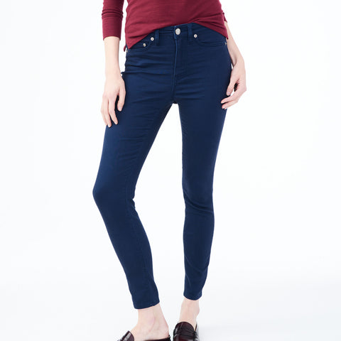 2b9a8d90e6f Seriously Stretchy High-Waisted Solid Uniform Jegging***
