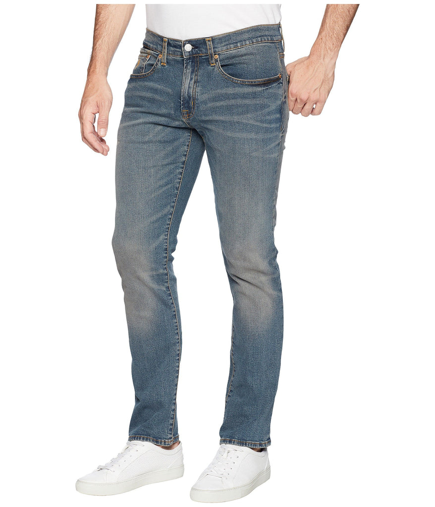 U.S. POLO ASSN. | Slim Straight Stretch Denim Jeans in Blue - Yashry