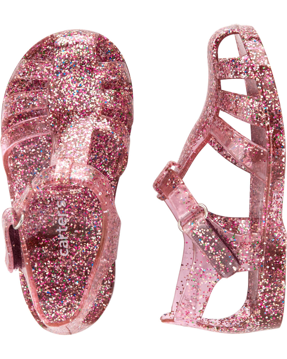 Carter's Glitter Jelly Sandals