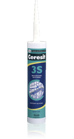 Ceresit 3S Silicone Sealant (280ml)