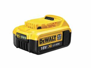 De Walt Li-ion Battery 4.0 Ah DCB182