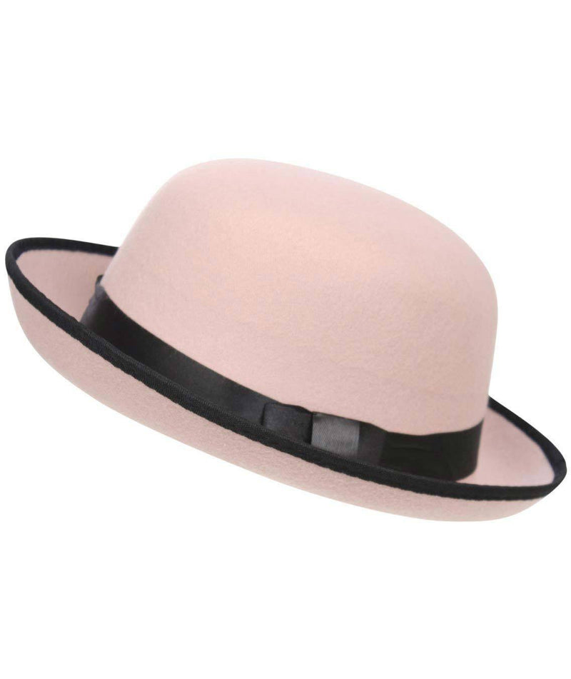 Bowler Hat in Pink 2