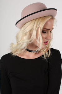 Bowler Hat in Pink 1