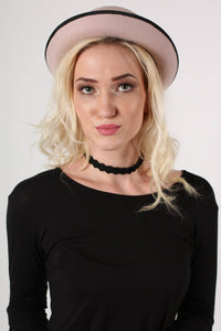 Bowler Hat in Pink 3