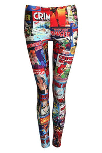 Cartoon Print Leggings 2