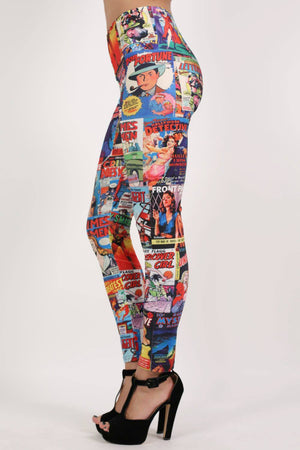 Cartoon Print Leggings 4
