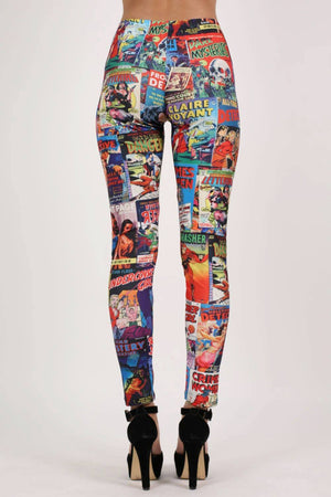 Cartoon Print Leggings 5