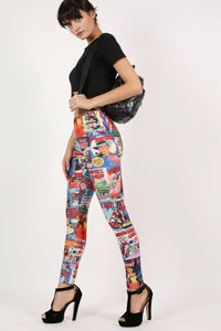 Cartoon Print Leggings 6