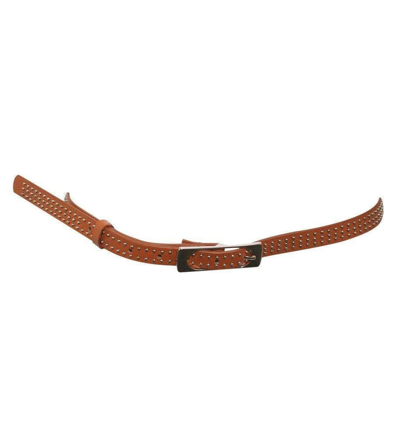 Studded Belt in Brown 1
