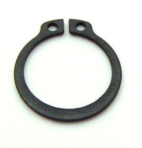 19mm External Circlip Carbon Black