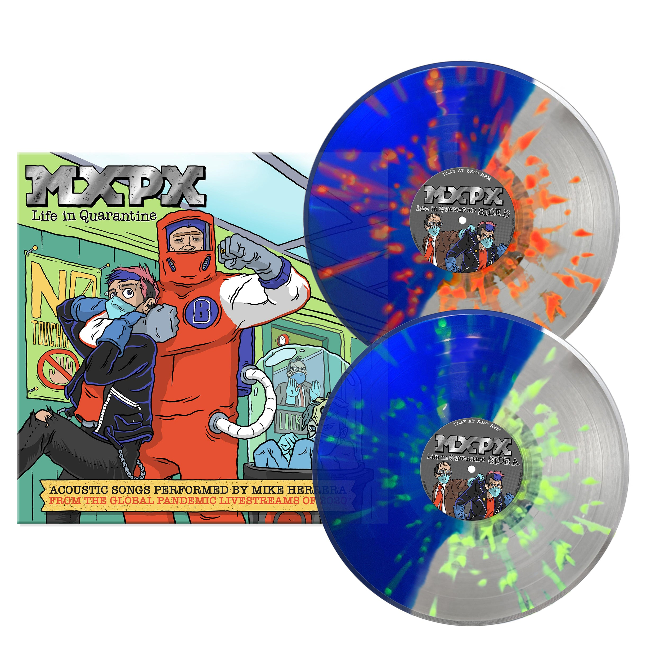 VINYL -LIFE IN QUARANTINE - LIMITED EDITION - PRE ORDER