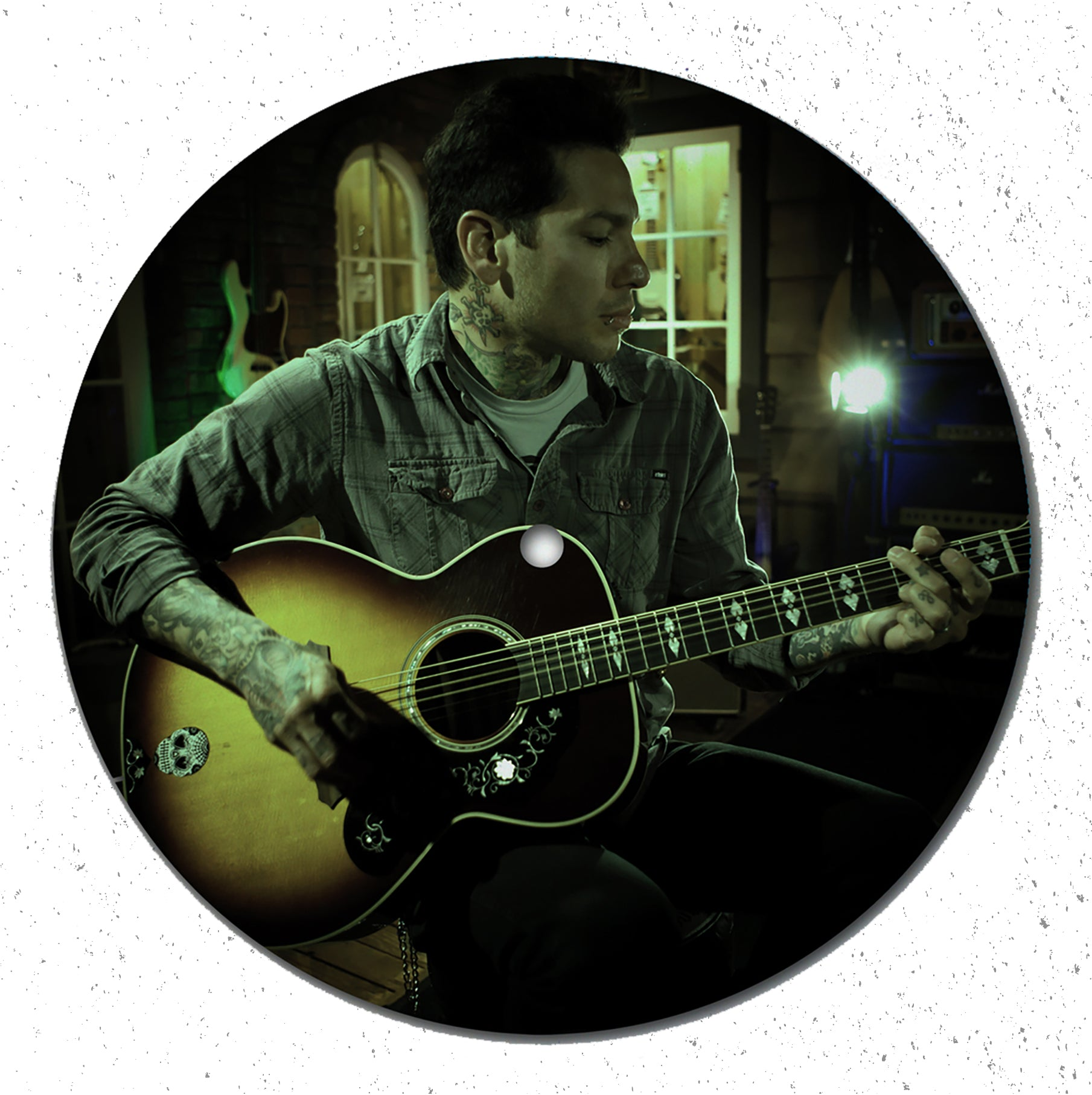 "VINYL - LIVE AT GUITAR CENTER - 7"" PICTURE DISC"