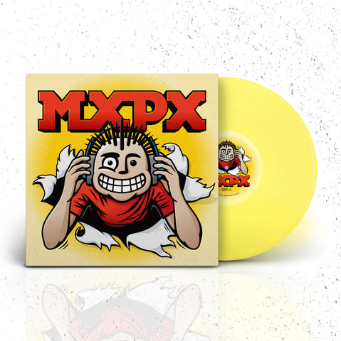 VINYL - MXPX SELF TITLED ALBUM - YELLOW