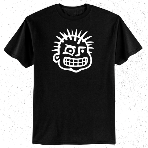 T SHIRT - PUNK HEAD