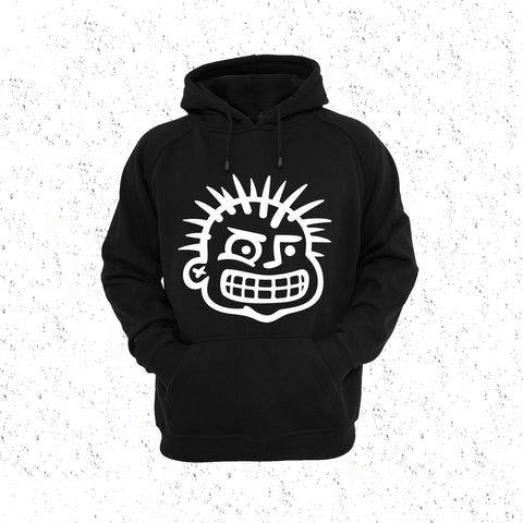 HOODIE - PUNK HEAD - PULL OVER