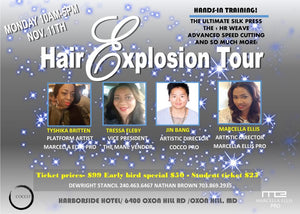 "STUDENT TICKET ""Hair Explosion Tour"" -$25 November 11, 2019"