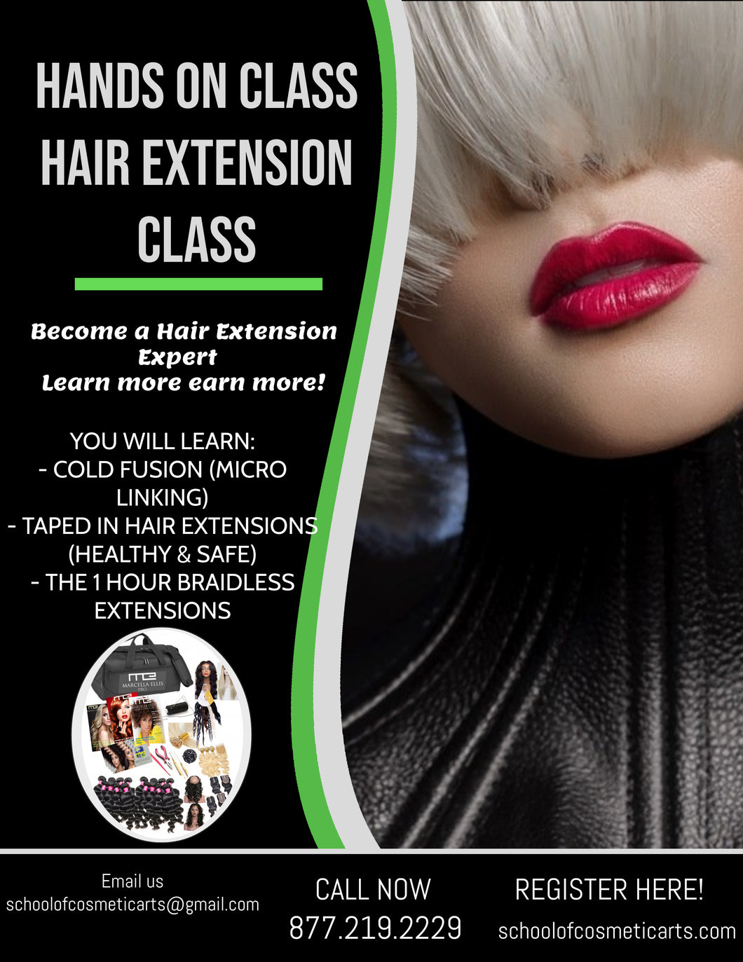 Hair Extension 2 or 4 Week Certification Program