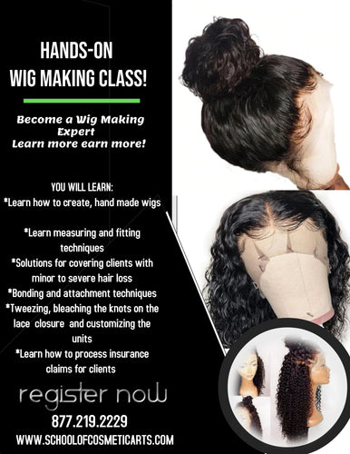 Wig Makers 2 or 4 Week Certification Program