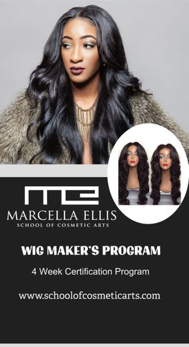 Wig Makers Certification 4-wk Training Program