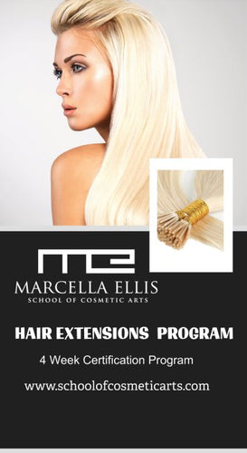 Hair Extension 4-wk Certification Training Program