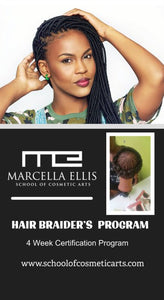 Braiders 4-wk Certification Training Program