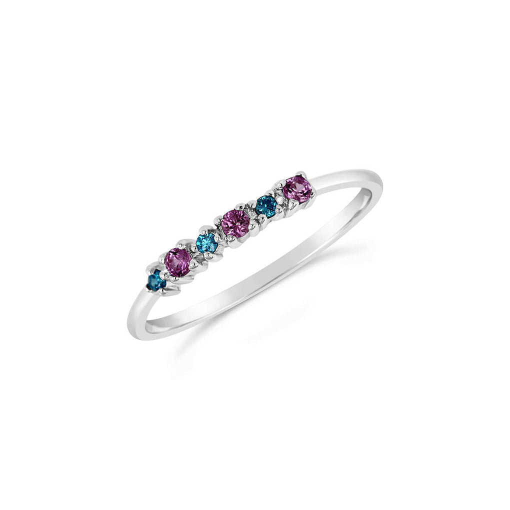 Carnival stacking ring | Little Sparkles Jewelry