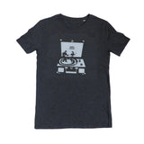 Dancing Turntable Dark Grey Men T-shirt