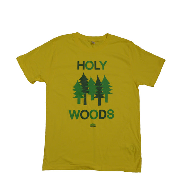 Holy Woods Yellow Men T-shirt