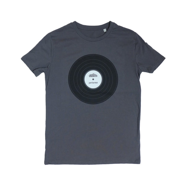 Vinyl Anthracite Grey Men T-shirt