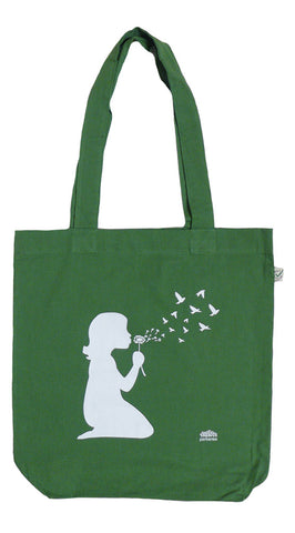 Dandelion Green Tote Bag