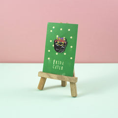Frida Catlo Enamel Pin