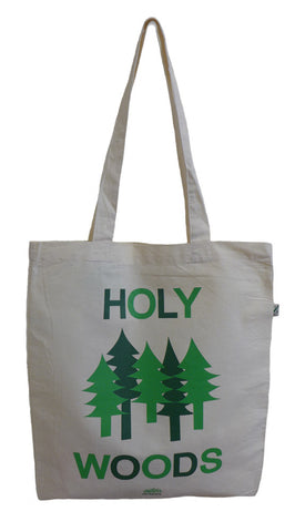 Holy Woods Ecru Tote Bag