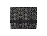 Mini Wallet Black Wave