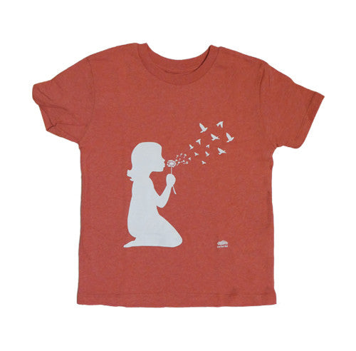 Dandelion Melange Red Kid T-shirt
