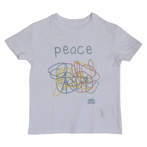 Peace White Kid T-shirt