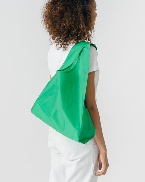 Leaf Green Reusable Shopping Bag