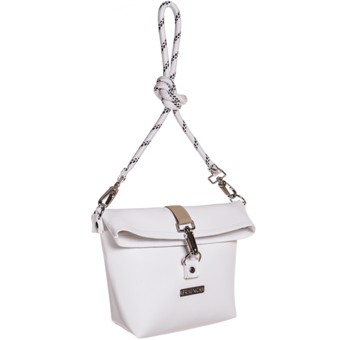 Lucy Shoulder Bag White