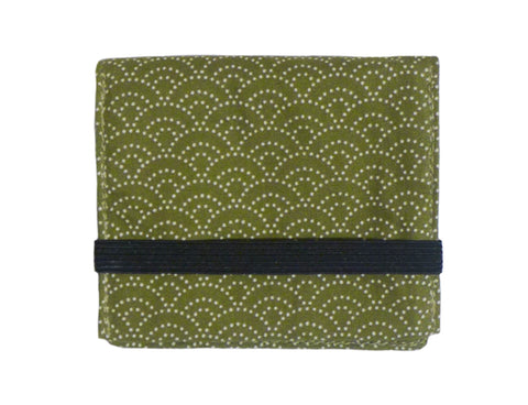 Mini Wallet Green Wave