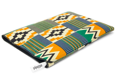 "11"" Laptop Sleeve African Wax"