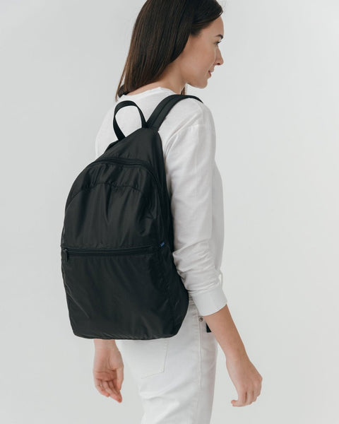 Foldable Backpack Black