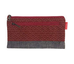 Sonia Etui Burgundy Wave