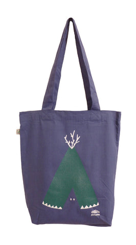 Tipi Blue Tote Bag