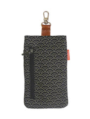 Wasabi 6 Phone Pouch Black Wave
