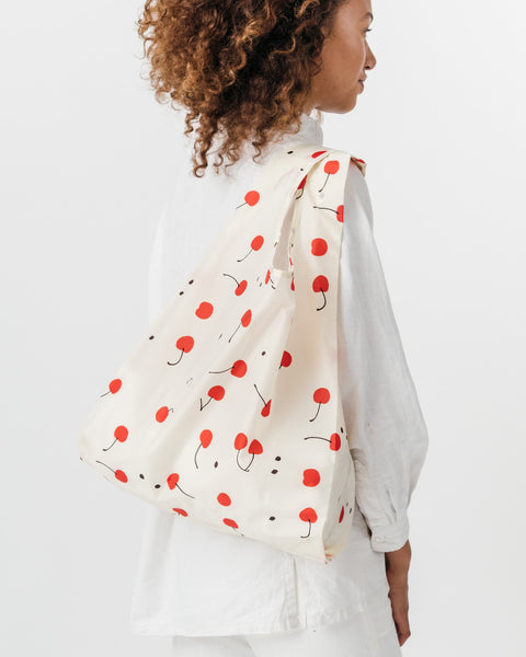 Red Cherry Reusable Shopping Bag