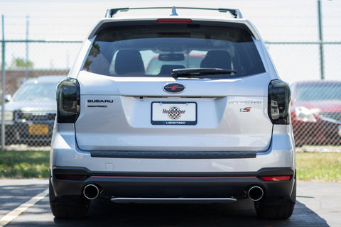 Rear Bumper Reflector Smoked Overlays - 2014-2018 Forester