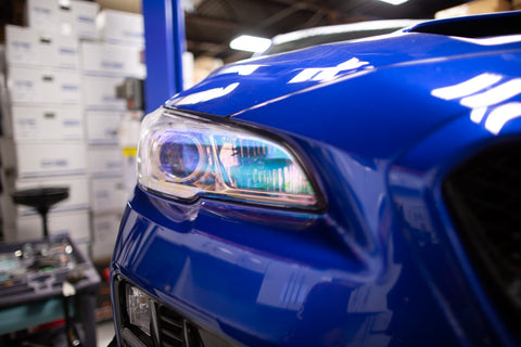 Chameleon Headlight Overlays - 2015-2020 WRX / STI