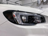 Smoked or Black Out Headlight Overlays V2 - 2015-2020 WRX / STI
