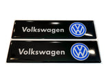 VW Volkswagen Logo Emblem for Weathertech All Weather Floor Mats - Volkswagen