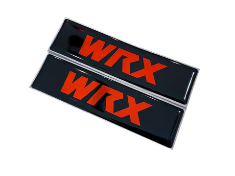 WRX Classic Logo Emblems for Weathertech All Weather Floor Mats