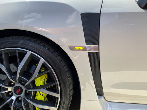 V2 Extended Fender Vent Upper and Lower Overlays  - 2015-2021 WRX / STI